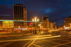 Evening traffic in Dublin Stock Photos