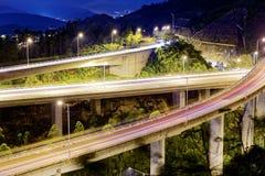Evening traffic. Royalty Free Stock Photo