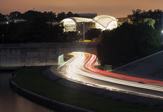 Evening traffic in Washington Stock Photography