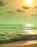 Evening tropical landscape Royalty Free Stock Photo