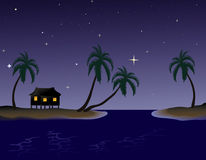 Evening in the Tropics Stock Images