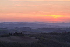Evening in Tuscany Royalty Free Stock Photo
