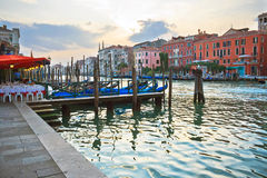 Evening in Venice Stock Images