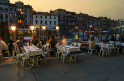 Evening in Venice. Royalty Free Stock Photo