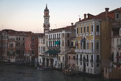 Evening in Venice Royalty Free Stock Images
