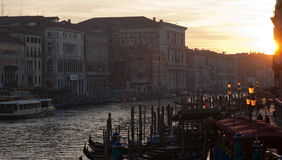 Evening in Venice Royalty Free Stock Photography