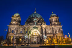 Evening view of Berliner Dom, Berlin, Germany Stock Image