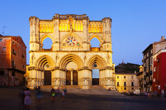 Evening view of Cathedral. Cuenca, Spain Royalty Free Stock Photos