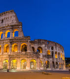 Evening view of Colosseo in Rome, Italy Stock Photo
