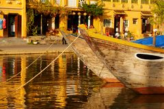 Evening in Hoi An Royalty Free Stock Images