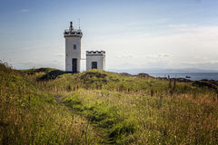 Evening view of Elie Lighthouse Stock Photo