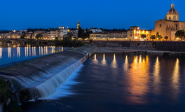 Evening view of Florence Royalty Free Stock Photography
