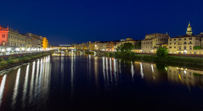 Evening view of Florence Stock Photography