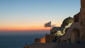 Evening view of Santorini Royalty Free Stock Image