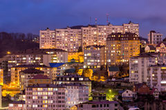 Evening view of Sochi. Russia Stock Photos