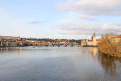 Evening Vltava Stock Photos