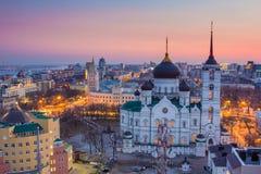 Evening Voronezh Royalty Free Stock Photography