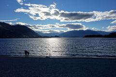 Evening in Wanaka Stock Image