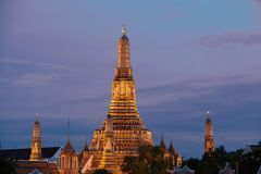 Evening wat Arun Royalty Free Stock Image