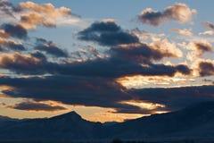 Evening Western Sunset Stock Photo