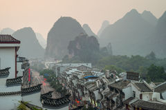 Evening Yangshuo - China Royalty Free Stock Image