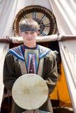 Evenk shaman Royalty Free Stock Photo