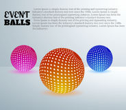 Event balls Stock Photography