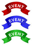 Event banner Stock Photo
