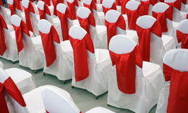 Event chairs Stock Image