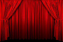 Event Curtain Royalty Free Stock Photography