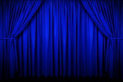 Event Curtain Stock Photo