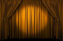 Event Curtain Stock Photo