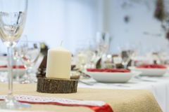 Event decoration Royalty Free Stock Image