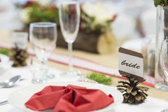 Event decoration Royalty Free Stock Photos