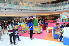 Event of Disney's World Family Sweetheart Baby Carnival in Hong Kong Stock Photography