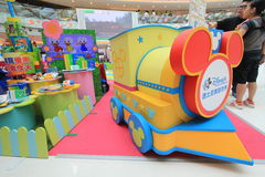 Event of Disney's World Family Sweetheart Baby Carnival in Hong Kong Royalty Free Stock Images