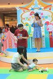 Event of Disney's World Family Sweetheart Baby Carnival in Hong Kong Stock Photos