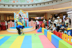 Event of Disney's World Family Sweetheart Baby Carnival in Hong Kong Royalty Free Stock Image