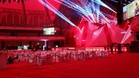 Event hall Frankfurt Messe. Beautiful event hall at the frankfurt messe stock image