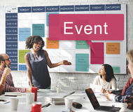 Event Happening Incident Occasion Schedule Concept Royalty Free Stock Image