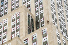 Event Horizon in New York City by Antony Gormley Stock Photo