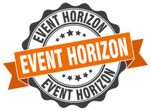 Event horizon stamp Royalty Free Stock Images