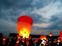 Lampion. Event lampion, jakarta city royalty free stock photo