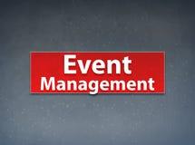 Event Management Red Banner Abstract Background. Event Management Isolated on Red Banner Abstract Background illustration Design royalty free illustration