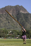 Tossing the Caber 2 Royalty Free Stock Photography