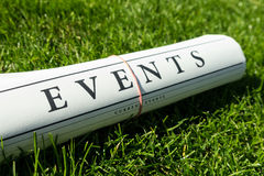 Event news Royalty Free Stock Images