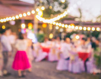 The event Party with People Blurred Background Stock Image