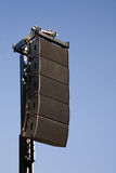 Event performance loud speaker Royalty Free Stock Photography