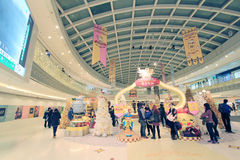 Event of Pom Pom Purin christmas decoration in Hong Kong Stock Photography