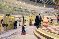 Event of Pom Pom Purin christmas decoration in Hong Kong Stock Photos